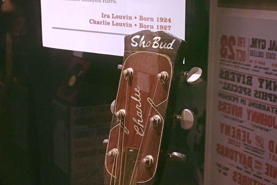 Charlie Louvin Sho Bud Guitar