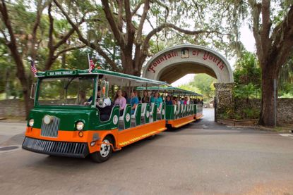 Fountain of Youth and Old Town Trolley Package