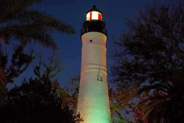 Spirits roam at the lighthouse