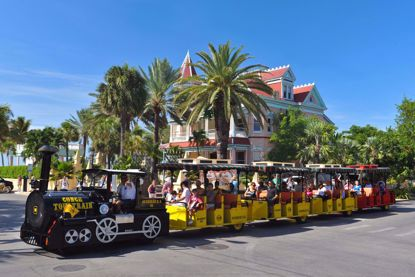 Conch Train at the Southernmost Hotel