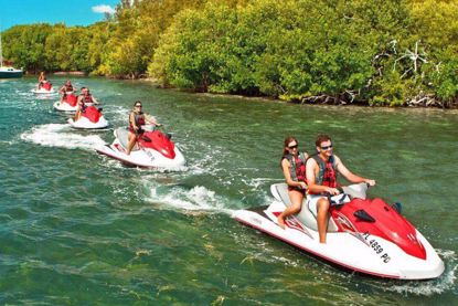 Be the Captain of your own Fury Jet Ski
