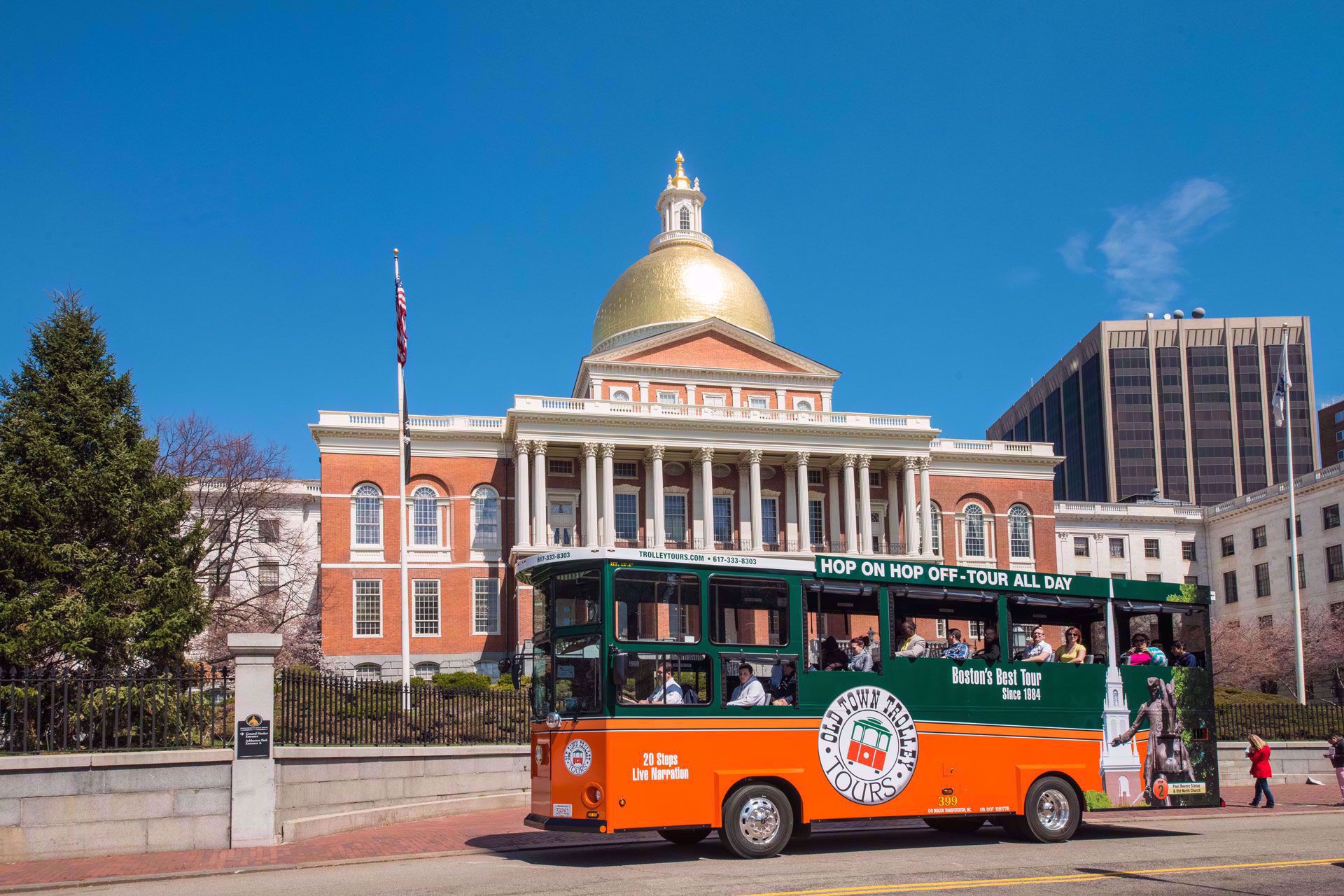 Discover the history of Boston
