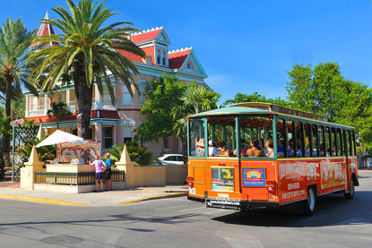 Key West Old Town Trolley-2 Day Pass
